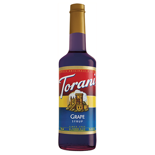 Torani Grape Syrup (750 mL) - CustomPaperCup.com Branded Restaurant Supplies