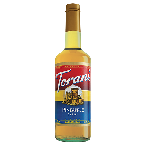Torani Pineapple Syrup (750 mL) - CustomPaperCup.com Branded Restaurant Supplies