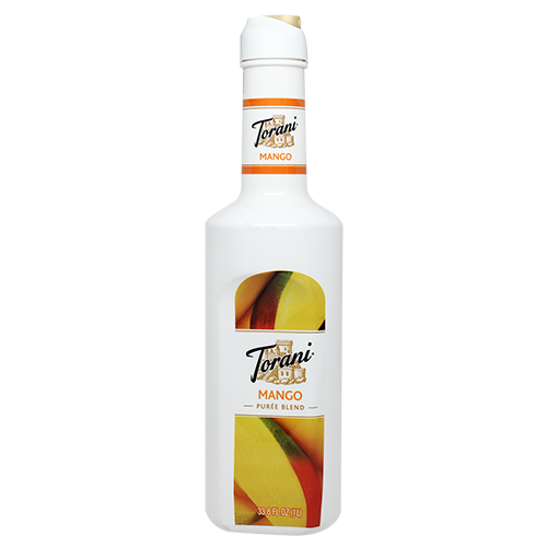 Torani Mango Purée Blend (1L) - CustomPaperCup.com Branded Restaurant Supplies