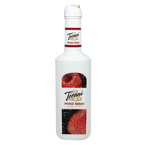 Torani Mixed Berry Purée Blend (1L) - CustomPaperCup.com Branded Restaurant Supplies