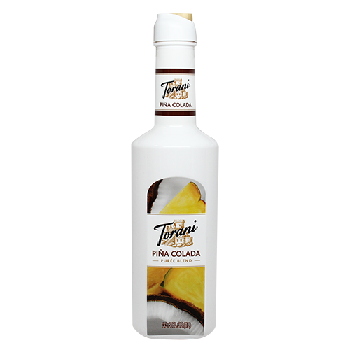 Torani Pina Colada Purée Blend (1L) - CustomPaperCup.com Branded Restaurant Supplies