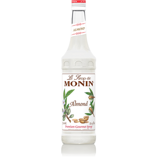 Monin Almond (Orgeat) Syrup (750mL) - CustomPaperCup.com Branded Restaurant Supplies