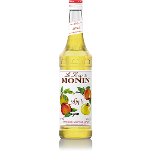 Monin Apple Syrup (750mL) - CustomPaperCup.com Branded Restaurant Supplies