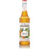 Monin Apricot Syrup (750mL) - CustomPaperCup.com Branded Restaurant Supplies