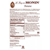Monin Banana Syrup (750mL) - CustomPaperCup.com Branded Restaurant Supplies
