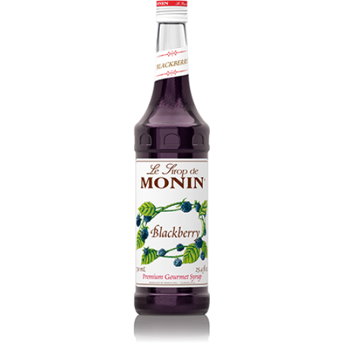 Monin Blackberry Syrup (750mL) - CustomPaperCup.com Branded Restaurant Supplies