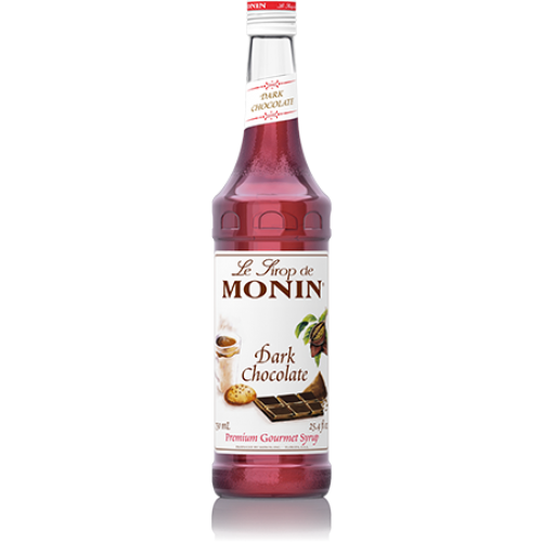 Monin Dark Chocolate Syrup (750mL) - CustomPaperCup.com Branded Restaurant Supplies