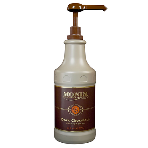 Monin Dark Chocolate Sauce (64oz) - CustomPaperCup.com Branded Restaurant Supplies