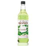 Monin Cucumber Syrup (1L) - CustomPaperCup.com Branded Restaurant Supplies
