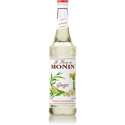 Monin Ginger Syrup (750mL) - CustomPaperCup.com Branded Restaurant Supplies