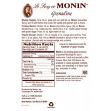 Monin Grenadine Syrup (750mL) - CustomPaperCup.com Branded Restaurant Supplies