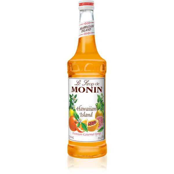 Monin Hawaiian Island Syrup (750mL) - CustomPaperCup.com Branded Restaurant Supplies