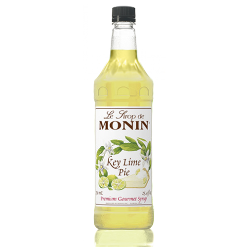 Monin Key Lime Pie Syrup (1L) - CustomPaperCup.com Branded Restaurant Supplies