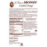 Monin Candied Orange Syrup (750mL) - CustomPaperCup.com Branded Restaurant Supplies