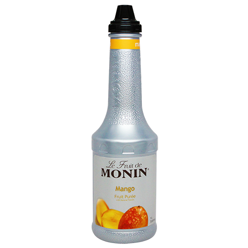 Monin Mango Fruit Purée (1L) - CustomPaperCup.com Branded Restaurant Supplies