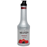Monin Wildberry Fruit Purée (1L) - CustomPaperCup.com Branded Restaurant Supplies