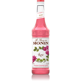 Monin Rose Syrup (750mL) - CustomPaperCup.com Branded Restaurant Supplies