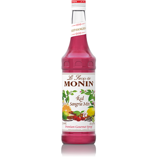 Monin Red Sangria Mix Syrup (750mL) - CustomPaperCup.com Branded Restaurant Supplies