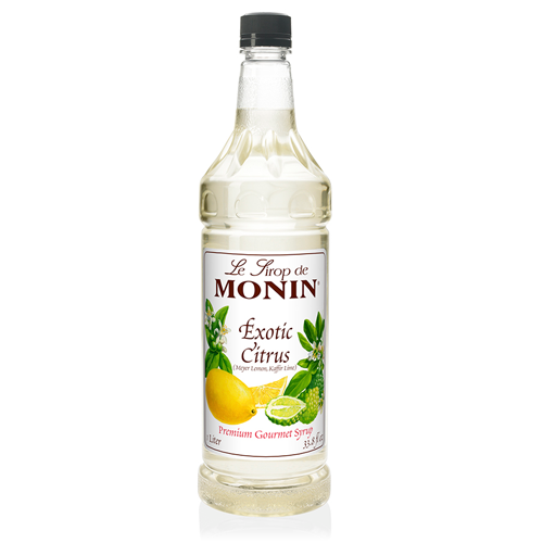 Monin Exotic Citrus Syrup (1L) - CustomPaperCup.com Branded Restaurant Supplies