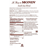 Monin South Sea Blend Syrup (1L) - CustomPaperCup.com Branded Restaurant Supplies
