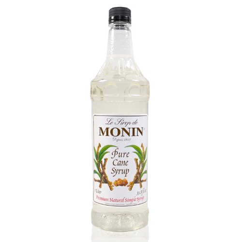 Monin Pure Cane Sweetener Syrup (1L)