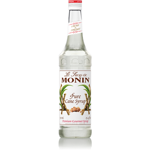 Monin Pure Cane Sweetener Syrup (750mL)