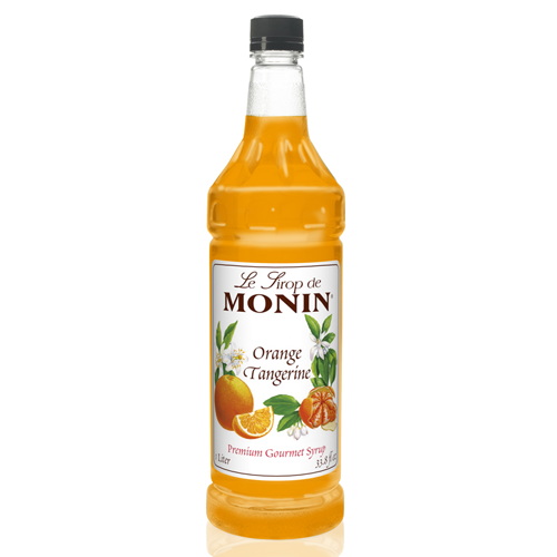 Monin Tangerine Syrup (1L) - CustomPaperCup.com Branded Restaurant Supplies