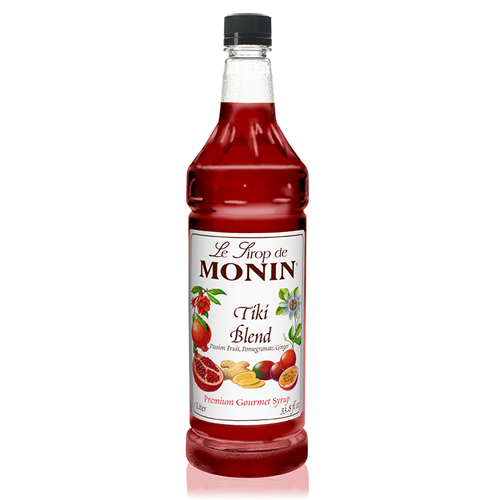 Monin Tiki Blend Syrup (1L) - CustomPaperCup.com Branded Restaurant Supplies