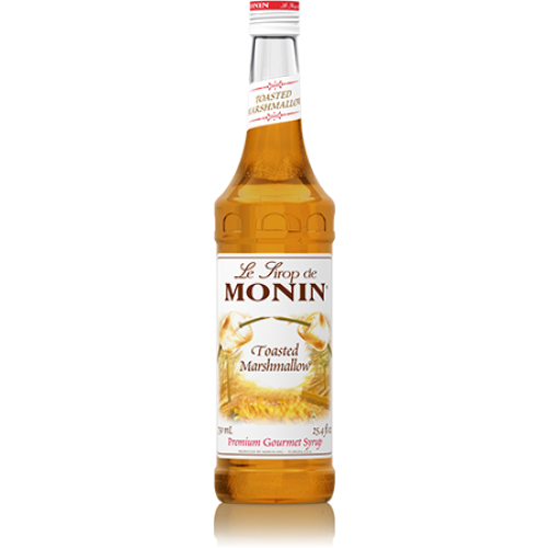 Monin Toasted Marshmallow Syrup (750mL) - CustomPaperCup.com Branded Restaurant Supplies
