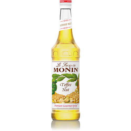 Monin Toffee Nut Syrup (750mL) - CustomPaperCup.com Branded Restaurant Supplies