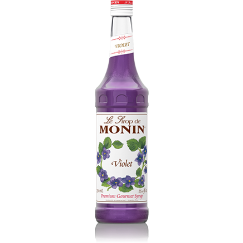Monin Violet Syrup (750mL) - CustomPaperCup.com Branded Restaurant Supplies