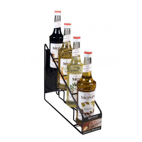 Monin Syrup Wire Rack (4 Bottles)