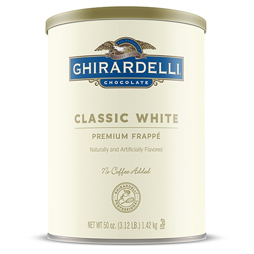Ghirardelli Classic White Frappé (3.12 lbs) - CustomPaperCup.com Branded Restaurant Supplies