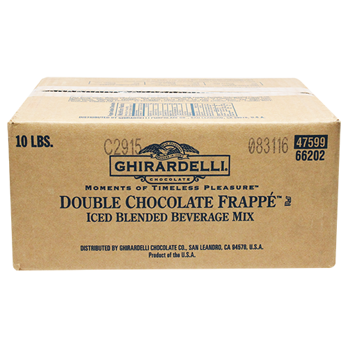 Ghirardelli Chocolate Frappé (10 lbs) - CustomPaperCup.com Branded Restaurant Supplies