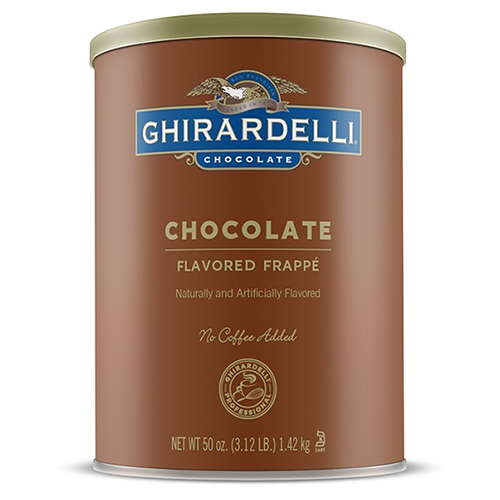 Ghirardelli Chocolate Frappé (3.12 lbs) - CustomPaperCup.com Branded Restaurant Supplies