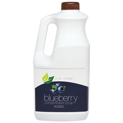 Tea Zone Blueberry Syrup (64oz) - CustomPaperCup.com Branded Restaurant Supplies