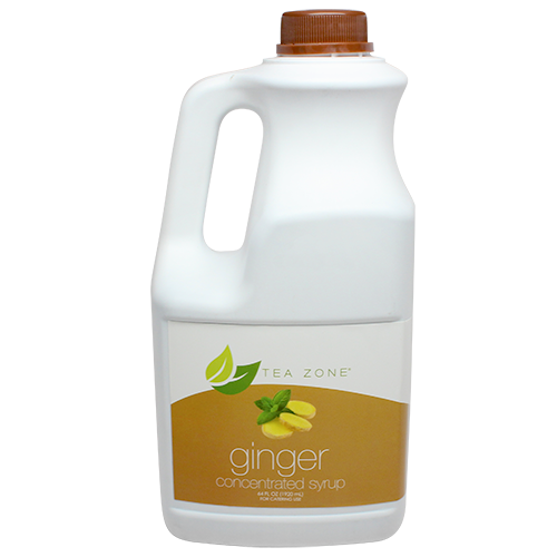 Tea Zone Ginger Syrup (64oz) - CustomPaperCup.com Branded Restaurant Supplies