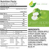 Tea Zone Green Apple Syrup (64oz) - CustomPaperCup.com Branded Restaurant Supplies