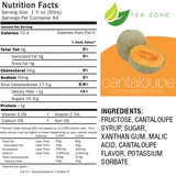 Tea Zone Cantaloupe Syrup (64oz) - CustomPaperCup.com Branded Restaurant Supplies