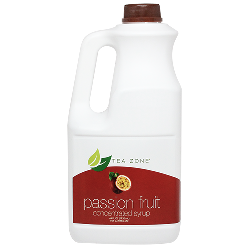 Tea Zone Passion Fruit Syrup (64oz) - CustomPaperCup.com Branded Restaurant Supplies