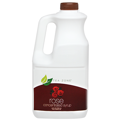 Tea Zone Rose Syrup (64oz) - CustomPaperCup.com Branded Restaurant Supplies