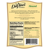 DaVinci All Natural Almond Flavored Syrup (700mL) - CustomPaperCup.com Branded Restaurant Supplies