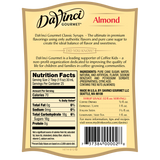 DaVinci Classic Almond (Orgeat) Syrup (750mL) - CustomPaperCup.com Branded Restaurant Supplies
