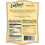 DaVinci Classic Amaretto Syrup (750mL) - CustomPaperCup.com Branded Restaurant Supplies
