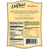 DaVinci Classic Blackberry Syrup (750mL) - CustomPaperCup.com Branded Restaurant Supplies
