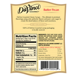 DaVinci Classic Butter Pecan Syrup (750mL) - CustomPaperCup.com Branded Restaurant Supplies