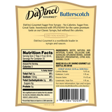 DaVinci Sugar Free Butterscotch Syrup (750mL) - CustomPaperCup.com Branded Restaurant Supplies