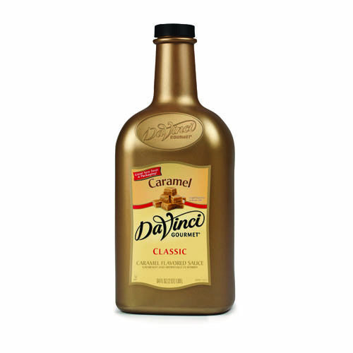 DaVinci Caramel Sauce (64oz) - CustomPaperCup.com Branded Restaurant Supplies