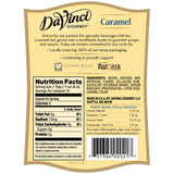 DaVinci Sugar Free Caramel Syrup (750mL) - CustomPaperCup.com Branded Restaurant Supplies