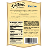 DaVinci Sugar Free Chai Tea Concentrate (750mL) - CustomPaperCup.com Branded Restaurant Supplies